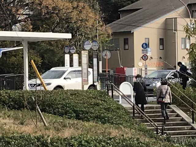 西宮「廣田神社」前にあるバス停