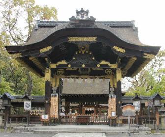 京都「豊国神社」唐門