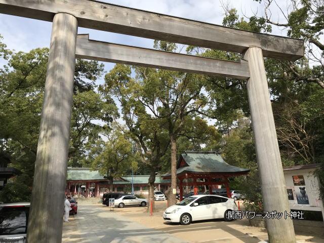 長田神社の鳥居