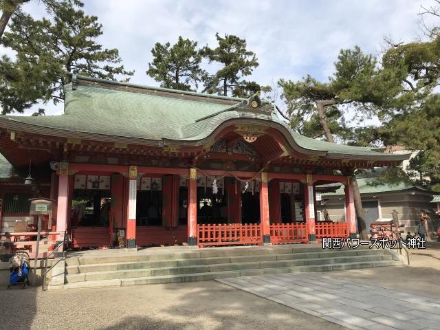 長田神社社殿
