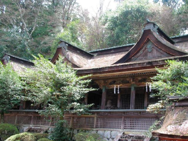 吉野水分神社・子守宮