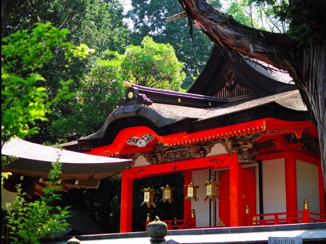 日根神社本殿