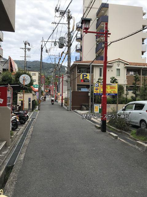瓢箪山稲荷神社の表参道