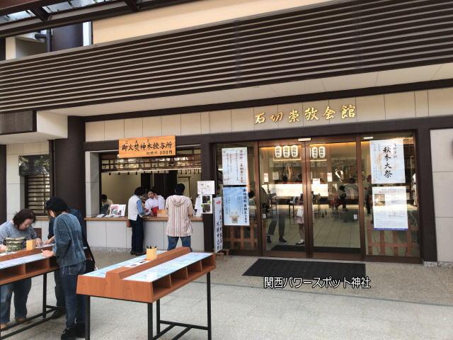 石切劔箭神社ご祈祷の申込と「石切崇敬会館」
