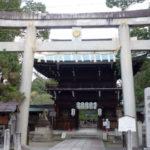 上御霊神社の鳥居