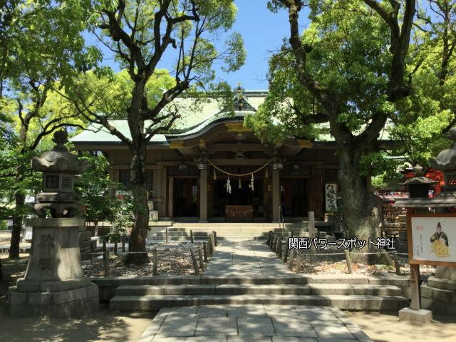 高津宮本殿