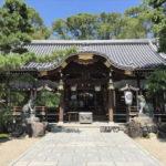 杭全神社拝殿