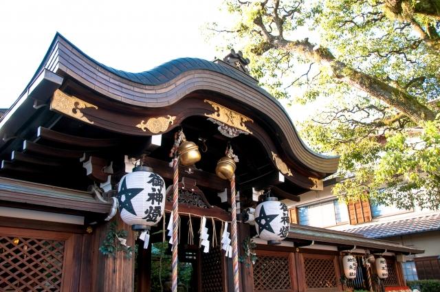 京都「晴明神社」本殿