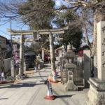 布忍神社の鳥居