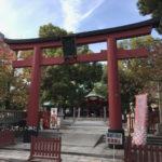 御霊神社(大阪)の鳥居