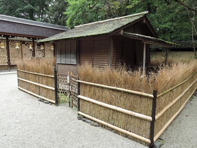 河合神社「万丈の庵」