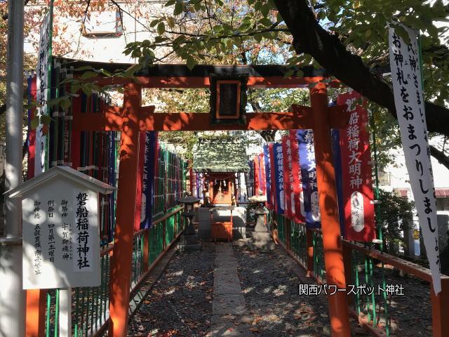 東高津宮の摂社「磐船稲荷神社」