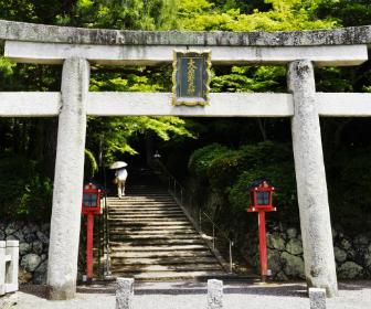 「大原野神社」鳥居