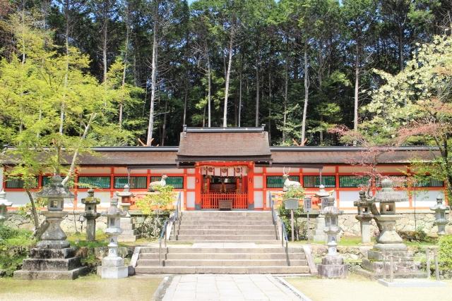 「大原野神社」本殿