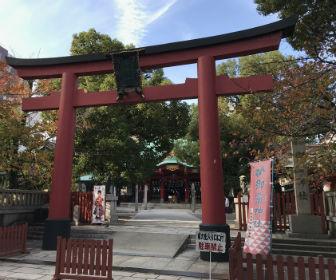 大阪「御霊神社」鳥居