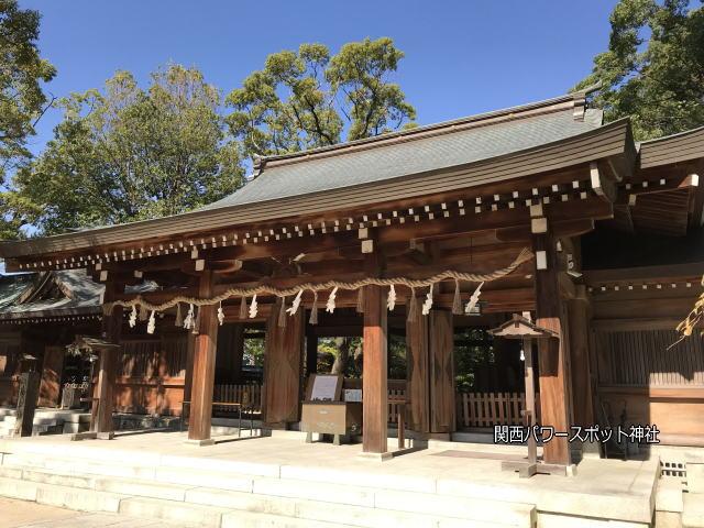 四条畷神社拝殿