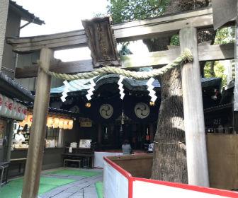 少彦名神社の鳥居