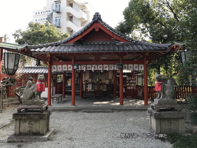源九郎稲荷神社本殿