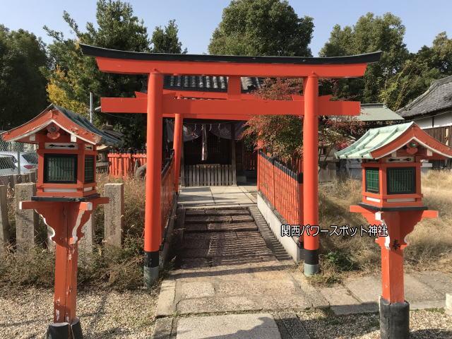 姫嶋神社の末社「玉榮稲荷社」