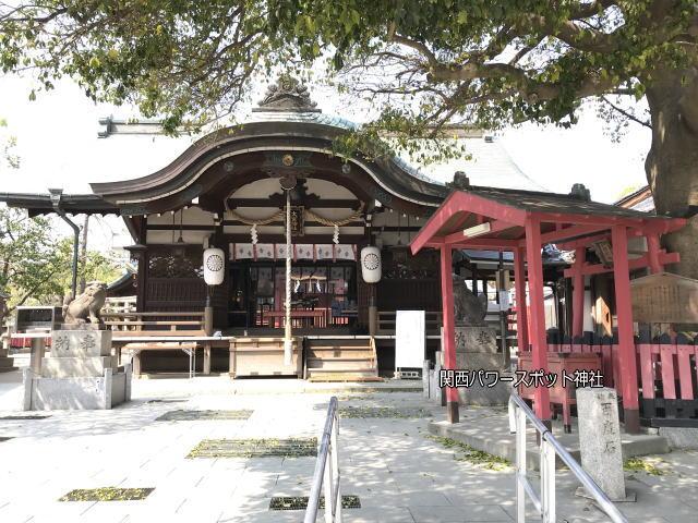 大宮神社の拝殿といぼ大神社