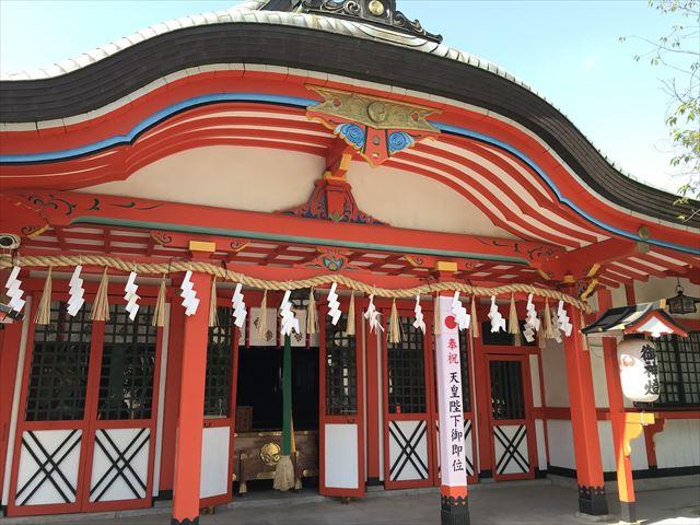 玉造稲荷神社本殿