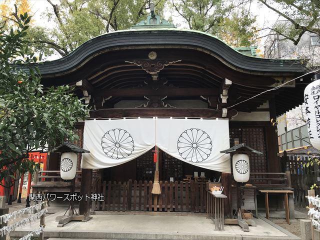 堀越神社の本殿