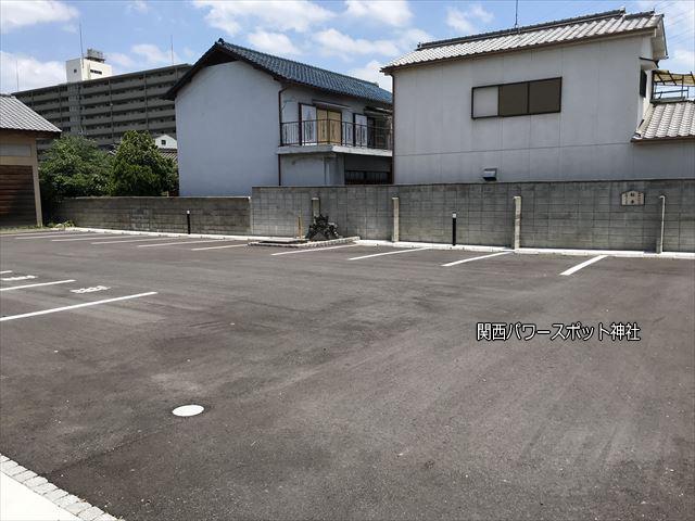 「志紀長吉神社」参拝用無料駐車場