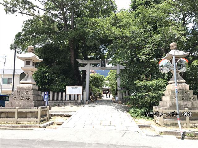 弓弦羽神社の鳥居