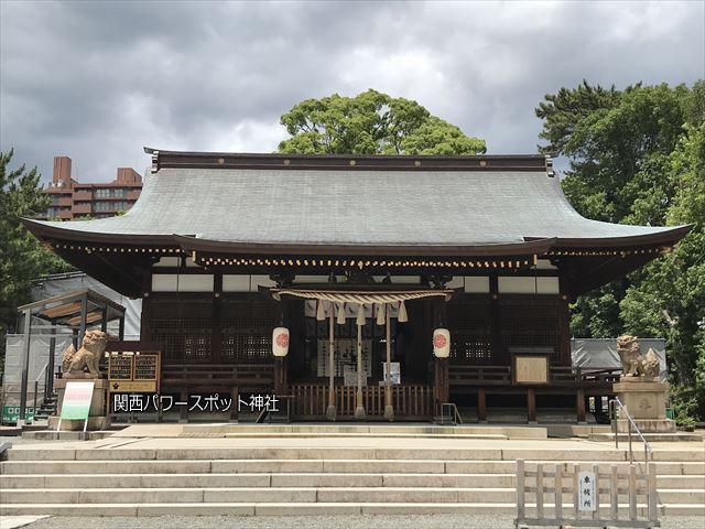 弓弦羽神社の拝殿