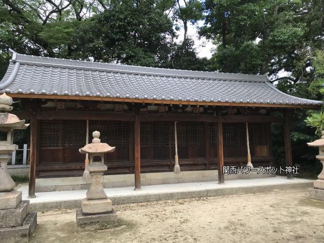 「弓弦羽神社」の末社「十二社」