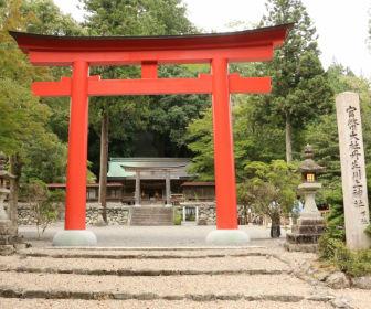 丹生川上神社の鳥居