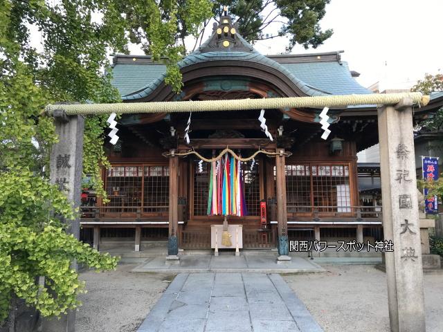 白山神社(大阪市)の拝殿
