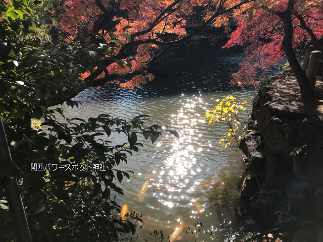 生田神社の生田の滝