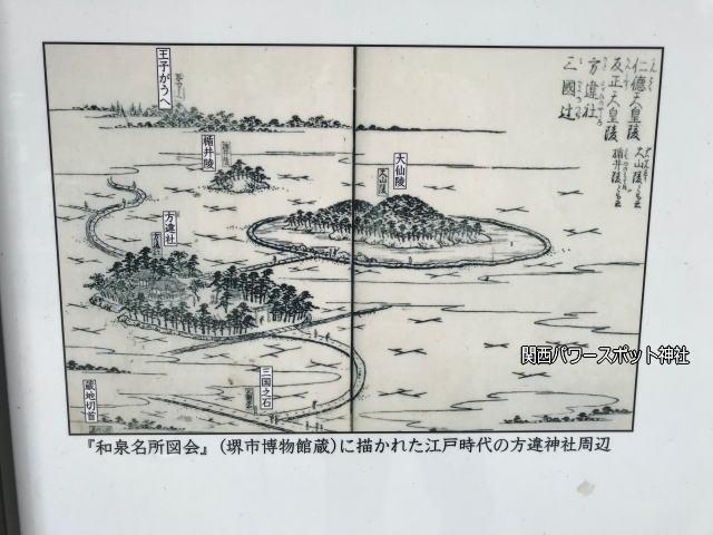 方違神社「和泉名所図会」