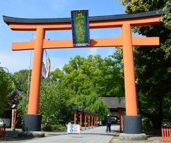 平野神社の鳥居