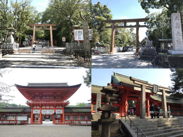 関西にある一宮神社(枚岡神社、大鳥大社、下鴨神社、住吉大社)