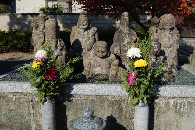 四天王寺の七福神像