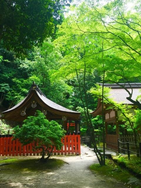 上賀茂神社の摂社「新宮神社」