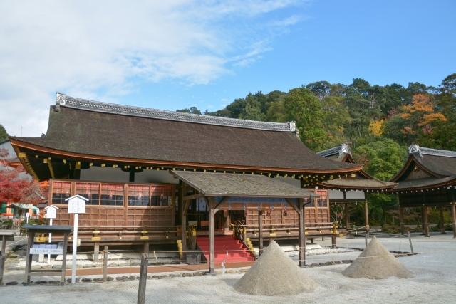 上賀茂神社の拝殿(細殿)