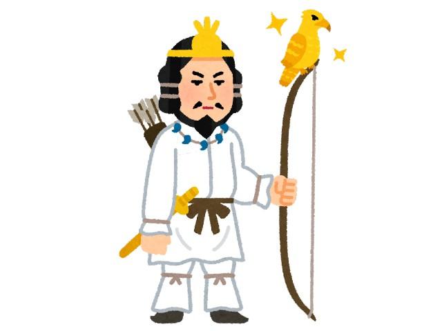 神武天皇:神倭伊波礼毘古(カムヤマトイワレビコ)