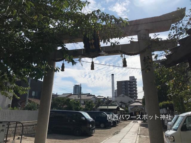 八阪神社(大阪市東成区中道)鳥居