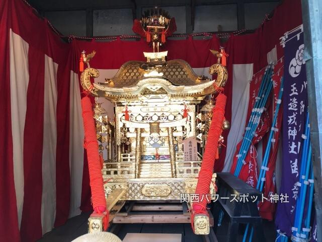 八阪神社(中道)の神輿