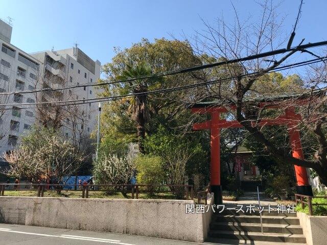 産湯稲荷神社の鳥居