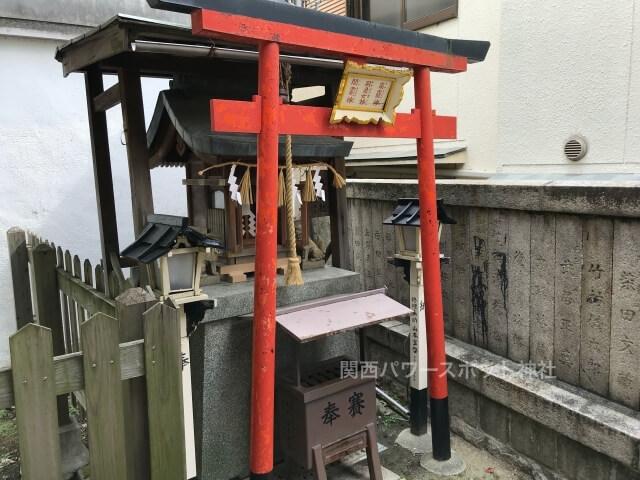 阿倍王子神社の末社「水神社」