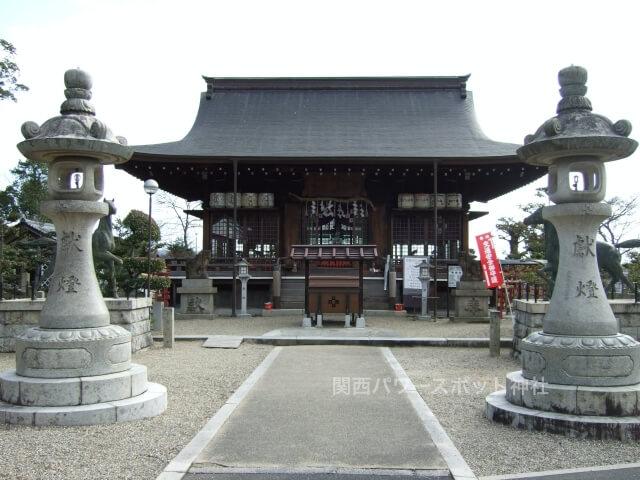 乃木神社(京都)拝殿