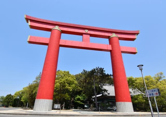おのころ島神社の鳥居