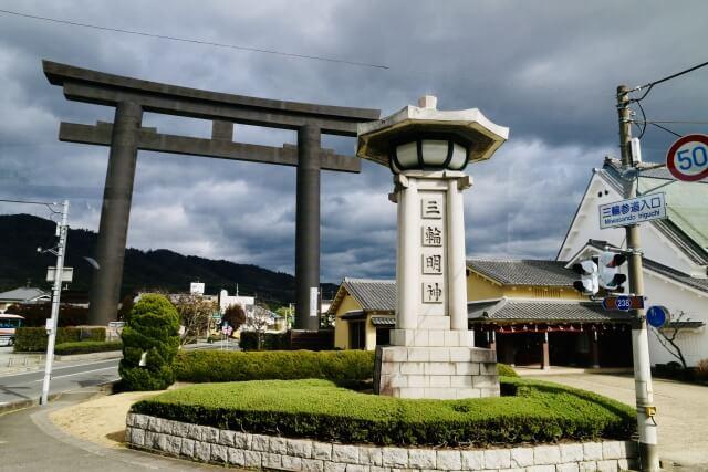大神神社の鳥居