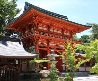 今宮神社(京都)楼門