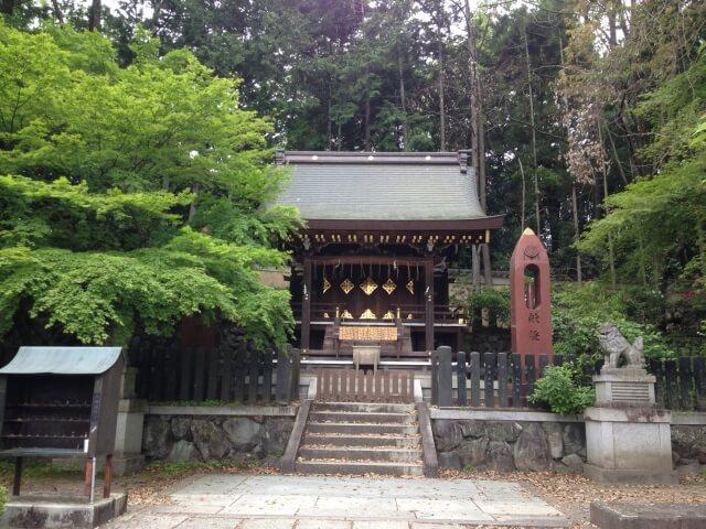 今宮神社の摂社「織姫社」
