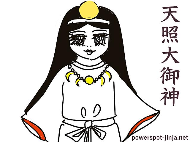 天照大御神(アマテラスオオミカミ)イメージ